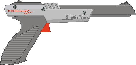 Nintendo Zapper [Gray] by BLUEamnesiac