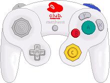 Nintendo Gamecube Controller [Club Nintendo] by BLUEamnesiac