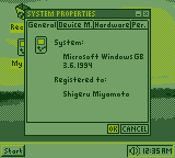 Windows GB: System Properties by BLUEamnesiac