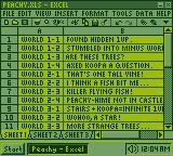 Windows GB: Excel by BLUEamnesiac