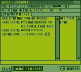 Windows GB: IRC by BLUEamnesiac