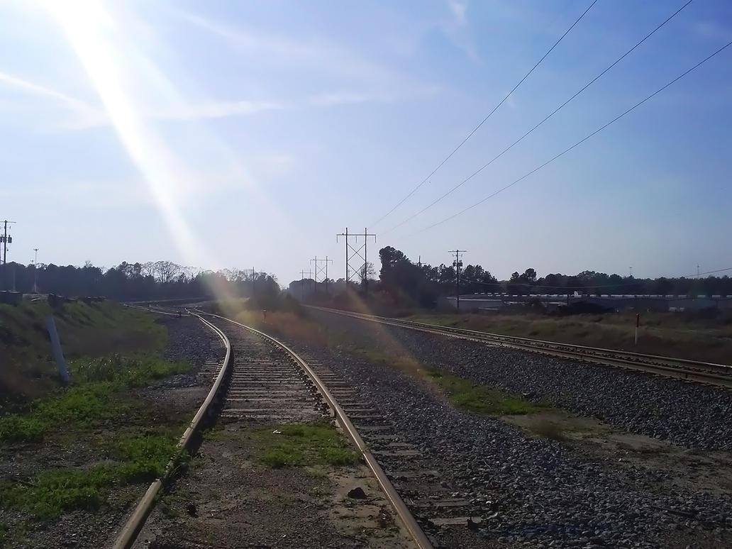 Train Tracks 005 by BLUEamnesiac