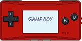 Game Boy Micro [Red] by BLUEamnesiac