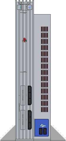 Sony PlayStation 2 [Metallic Silver] by BLUEamnesiac on