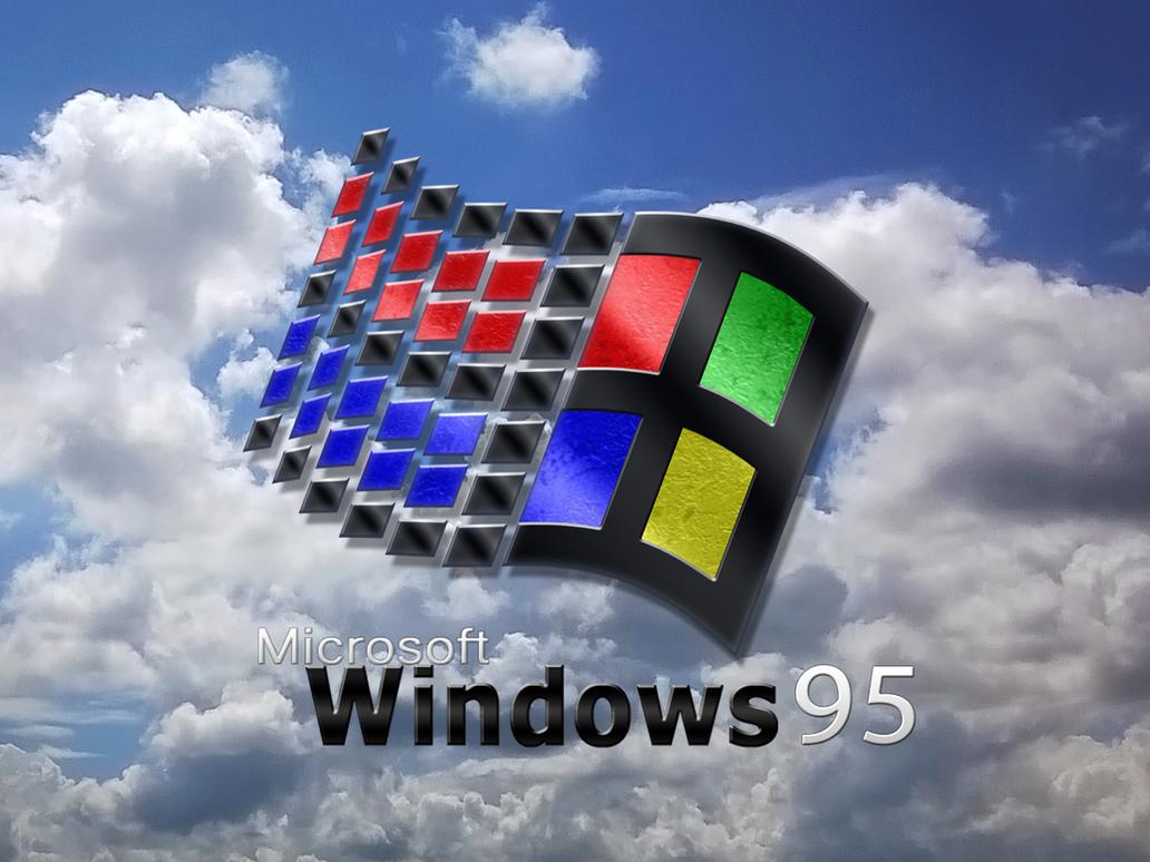 Windows 95 Wallpaper By BLUEamnesiac