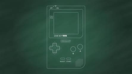 Nintendo Game Boy Pocket [Chalkboard]