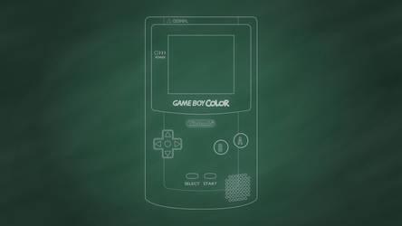 Nintendo Game Boy Color [Chalkboard]