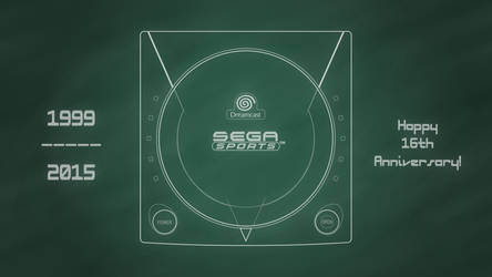 SEGA SPORTS Dreamcast [Chalkboard]