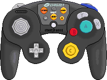 Nintendo Gamecube Controller [LodgeNet] by BLUEamnesiac