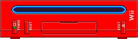 Nintendo Wii [Red] by BLUEamnesiac