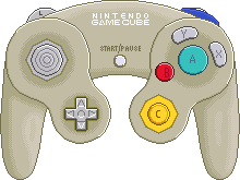 Nintendo Gamecube Controller [Starlight Gold] by BLUEamnesiac