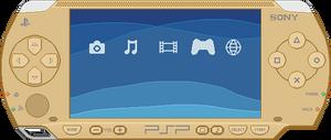 Sony PSP [Gold]