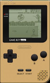 Nintendo Game Boy Pocket [Gold]