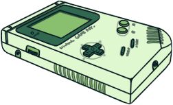 Game Boy [Spinach Green] by BLUEamnesiac
