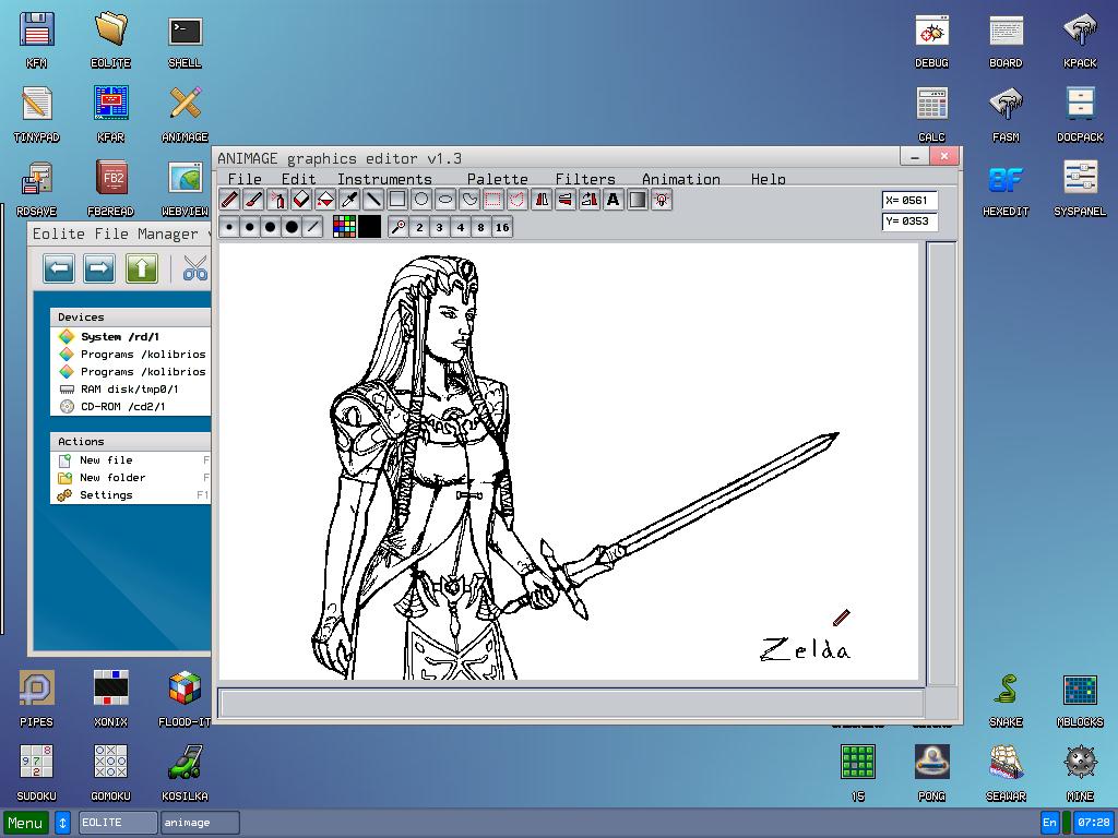 Zelda Doodle 02052016