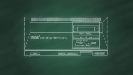 Sega Master System [Chalkboard]