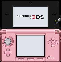 Nintendo 3DS [Pink] by BLUEamnesiac