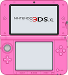 Nintendo 3DS XL [Pink] by BLUEamnesiac