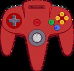 Nintendo 64 Controller [Red]