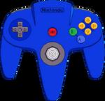 Nintendo 64 Controller [Blue]