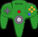 Nintendo 64 Controller [Green]