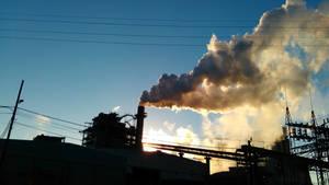 Industrial Sky 2 by BLUEamnesiac