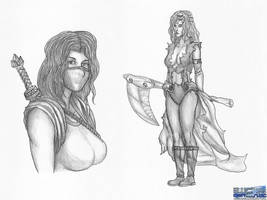Random Sketches 08062018 by BLUEamnesiac