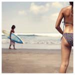 girl on the beach by pistonbroke