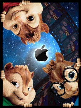 Chipmunks iPad Wallpaper