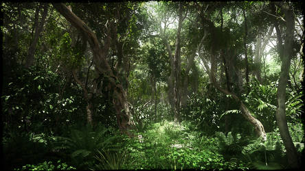 Jungle by Andywong75