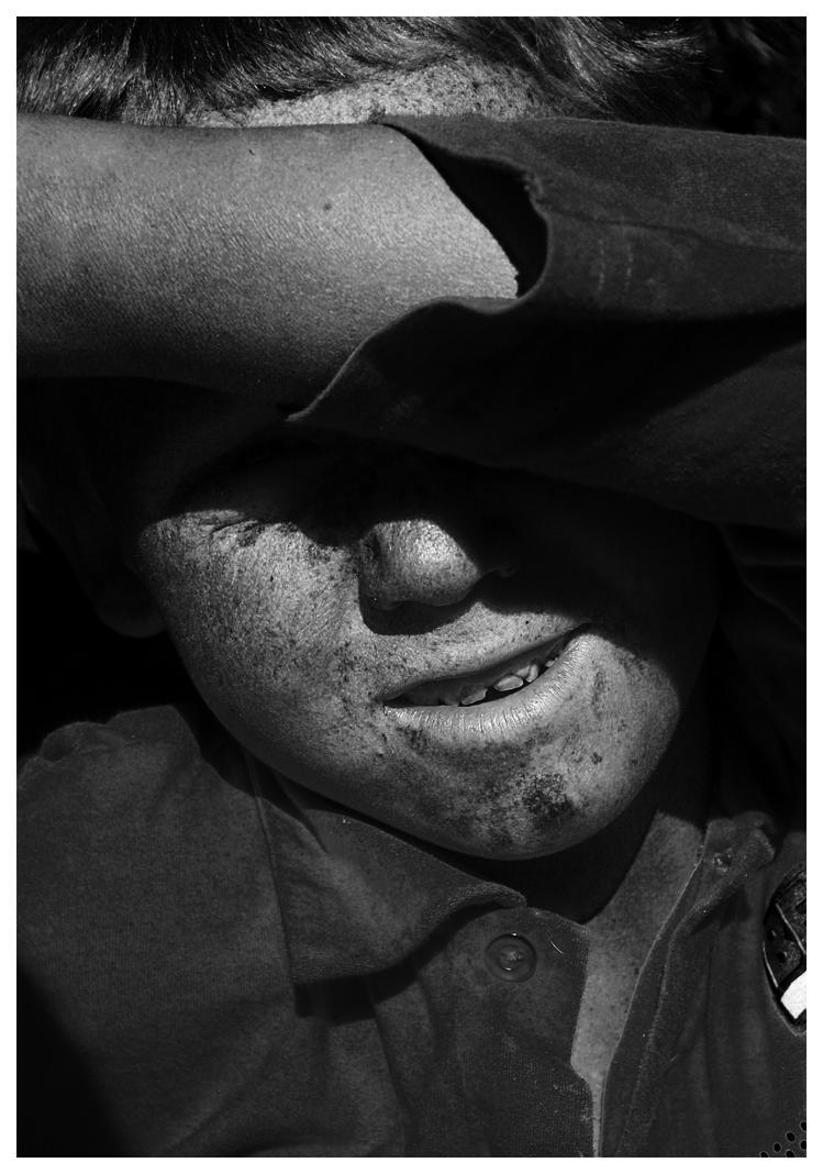 Sun shy and filth by MonkeyShepherd