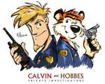 Calvin and Hobbes - P.I.