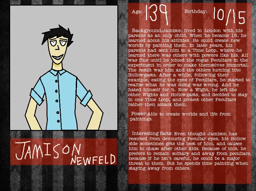 Jamison Newfeld by venjix515