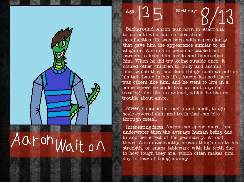 Aaron Waiton by venjix515