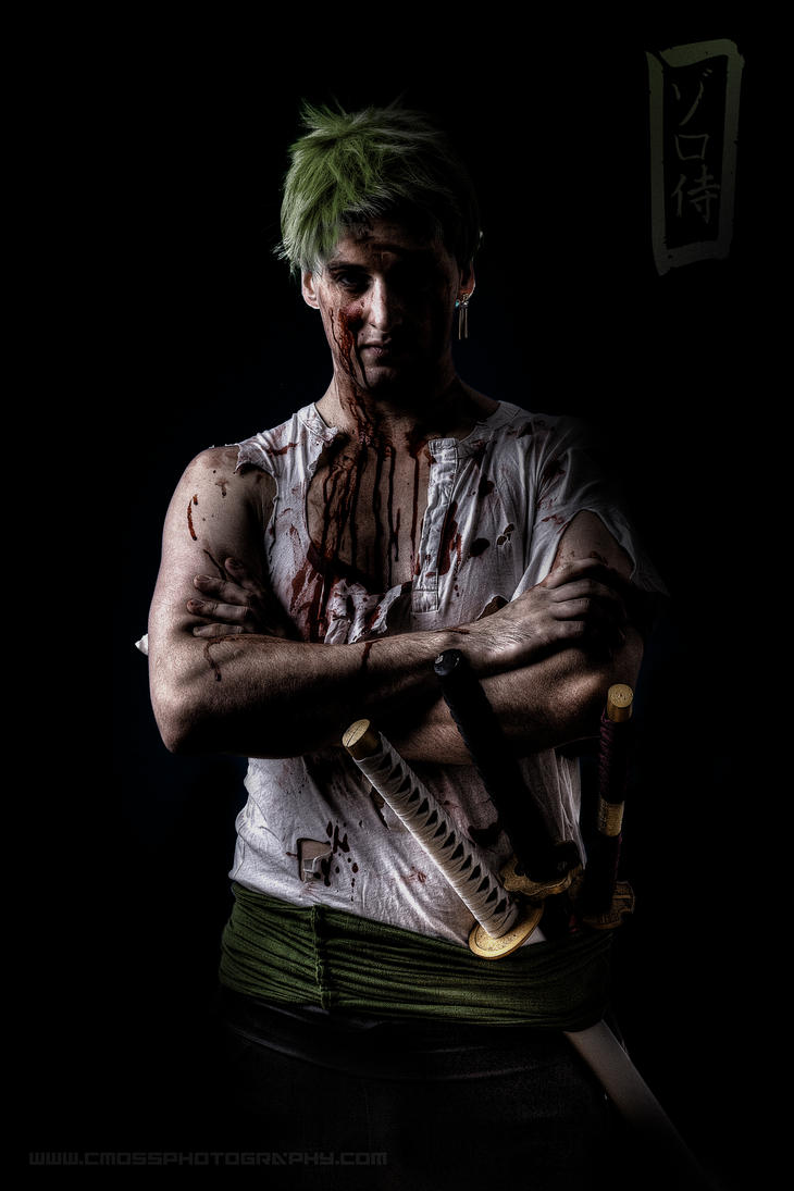 Battle (Roronoa Zoro) by CMOSsPhotography