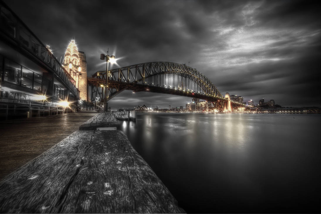 Harbour Bridge by CMOSsPhotography