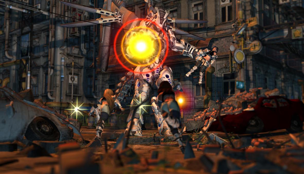 Versus Sentinel by Riku20xx