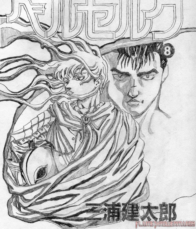 Berserk Volume 8 Drawing By FlamethrowerMan09 On DeviantArt