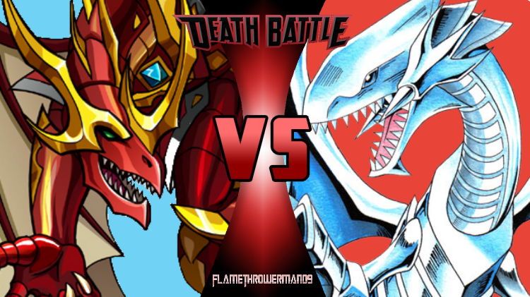 Death Battle: Dragonoid vs Blue-Eyes White Dragon by FlamethrowerMan09
