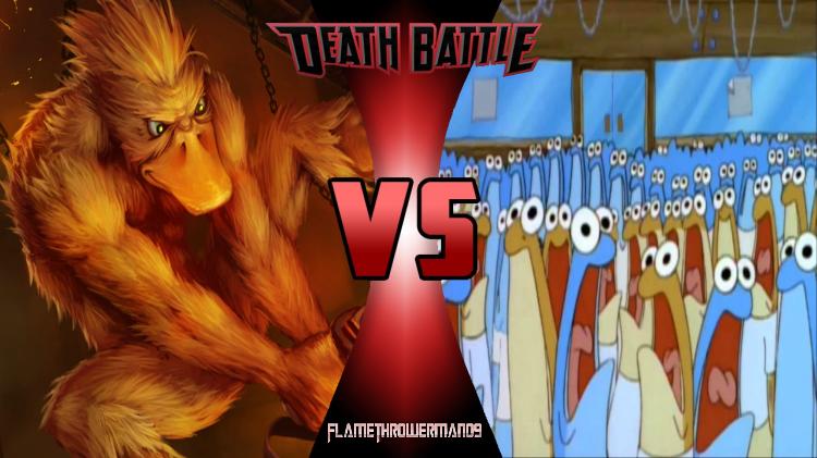 Joke DB: Duck Game Ducks vs The Anchovies by FlamethrowerMan09