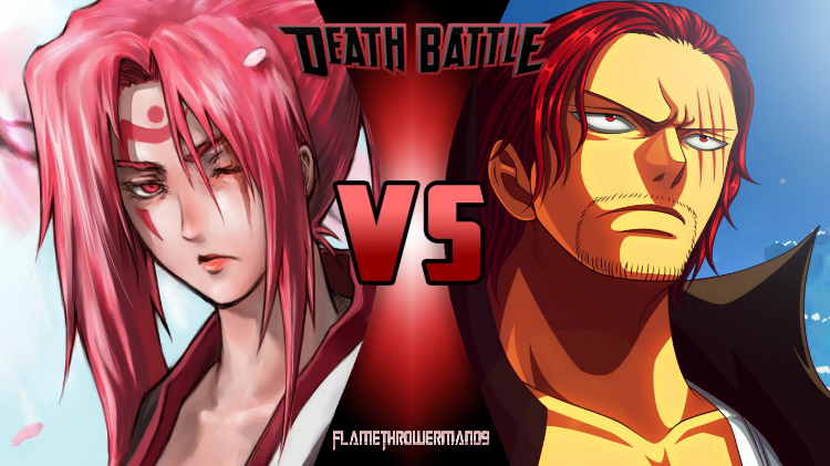 Death Battle: Baiken vs Shanks by FlamethrowerMan09