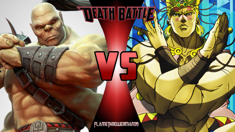 Death Battle: Goro vs Wamuu by FlamethrowerMan09