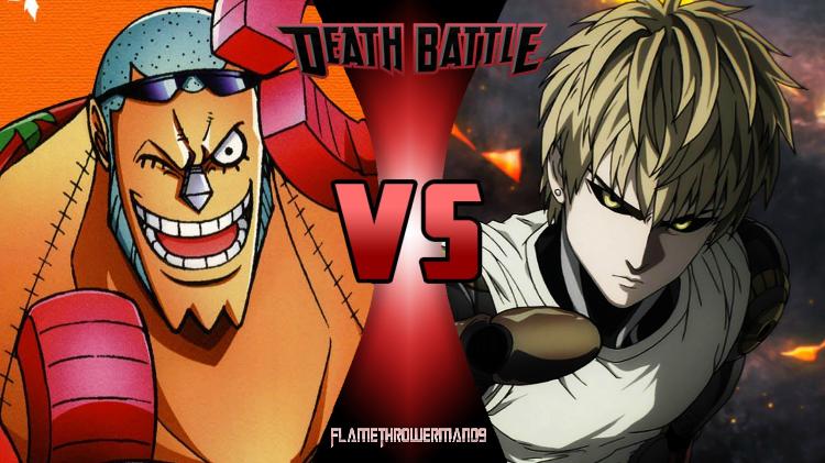 Death Battle: Franky vs Genos by FlamethrowerMan09