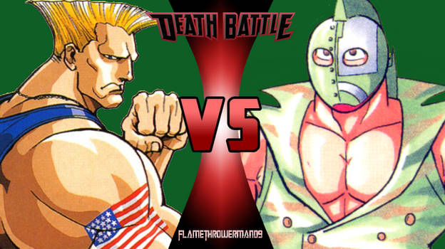 Death Battle: Guile vs Kinnikuman Soldier
