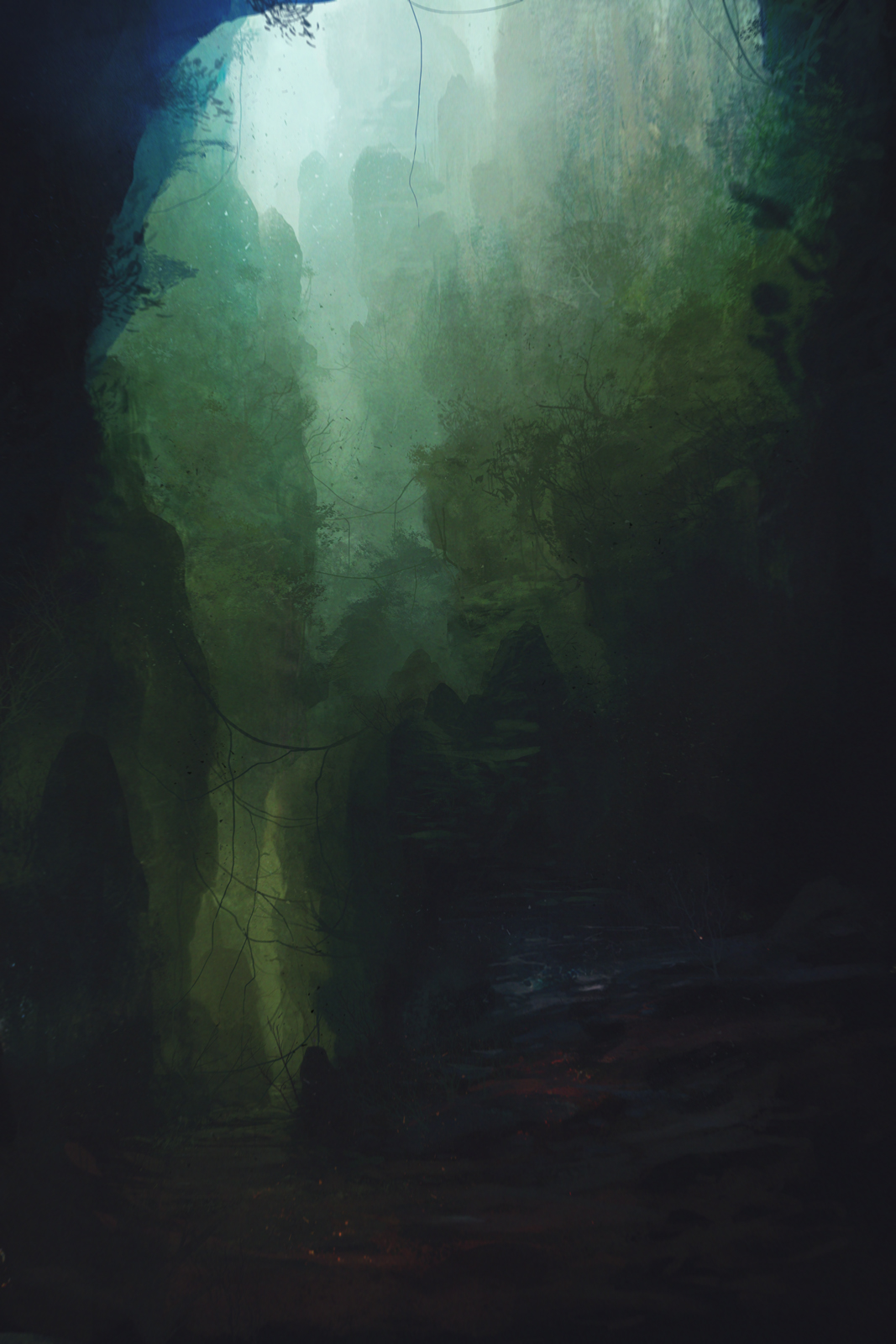 Jungle_Cave by GabrielWigren