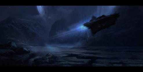 Spaceship by GabrielWigren