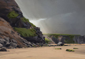 Beach by GabrielWigren