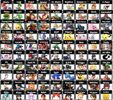 DarkKnight215's Super Smash Bros. roster #3 by DarkKnight215