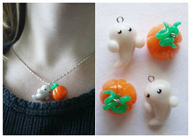 Halloween Charm Necklace by Shiritsu