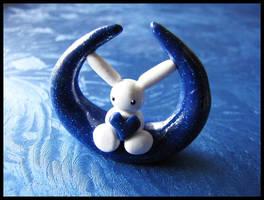 Peace Bunny Moon by Shiritsu